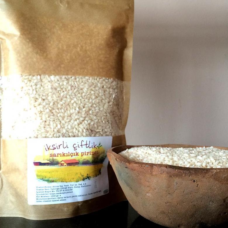 Tosya Sarı Kılçık Pirinç 1000 gr.