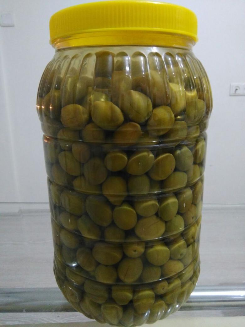 Yeşil zeytin dilme (3kg)
