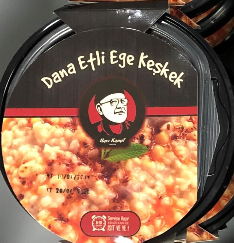 Dana Etli Ege Keşkek