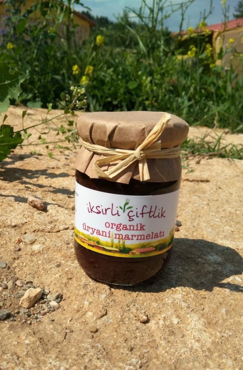 Organik Üryani Marmelatı 190 gr (Elma Suyu Konsantreli)