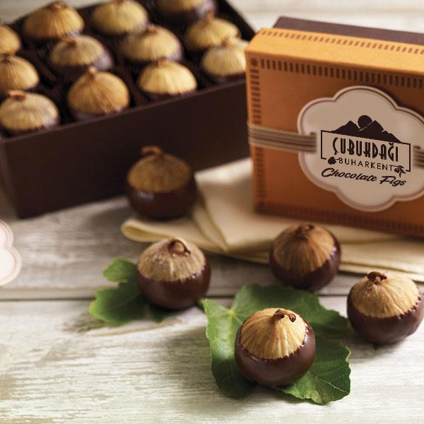 """""""İncir Chocolate"""" Çikolata Kaplamalı İncir Parçaları"""