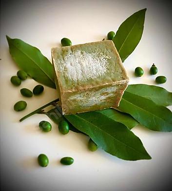Ev Yapımı Natural Saf Zeytinyağlı Defne Sabunu(66) 1 Adet/200 g
