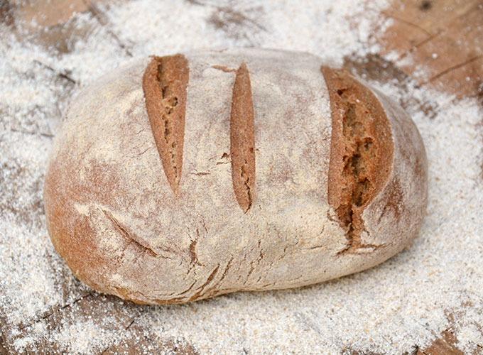 Ekşi Mayalı Köy Ekmeği (Tuzsuz)